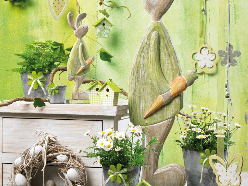 Decorazioni primaverili fiori articoli da regalo bolzano - Idee per vetrine primaverili ...