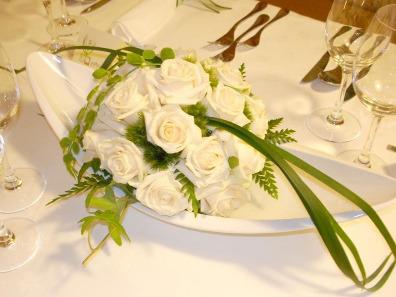 Matrimonio fiori articoli da regalo bolzano - Hochzeits tischdekoration ...