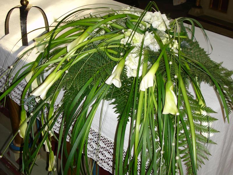 Dekorazine matrimonio Sarentino Südtirol Hochkofler Blumen
