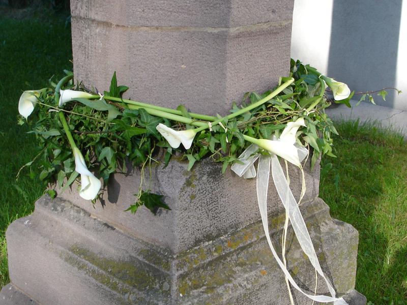 Decorazione matrimonio fiori Sarentino Alto Adige Hochkofler Blumen